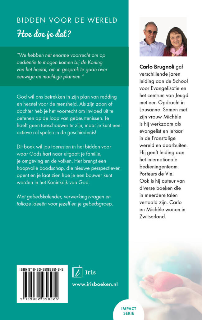Boek 'Bidden voor de wereld' - Carlo Brugnoli